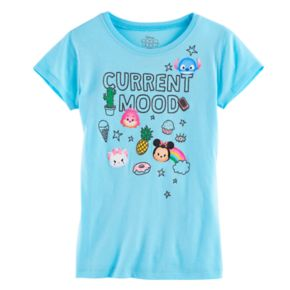 "Disney's Tsum Tsum Girls 7-16 ""Current Mood"" Graphic Tee"