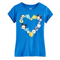 Disney's Tsum Tsum Girls 7-16 Heart Graphic Tee