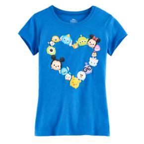 Disney's Tsum Tsum Girls 7-16 Heart Graphic Tee
