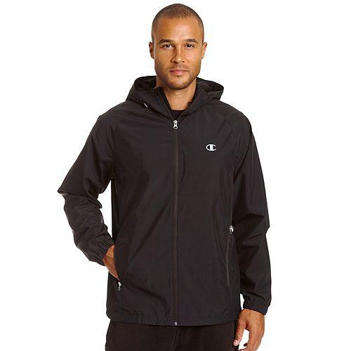 Men's Champion Hooded Rain Jacket