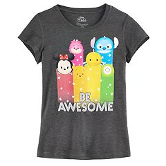 Disney's Tsum Tsum 'Be Awesome' Girls 7-16 Graphic Tee