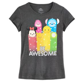 "Disney's Tsum Tsum ""Be Awesome"" Girls 7-16 Graphic Tee"