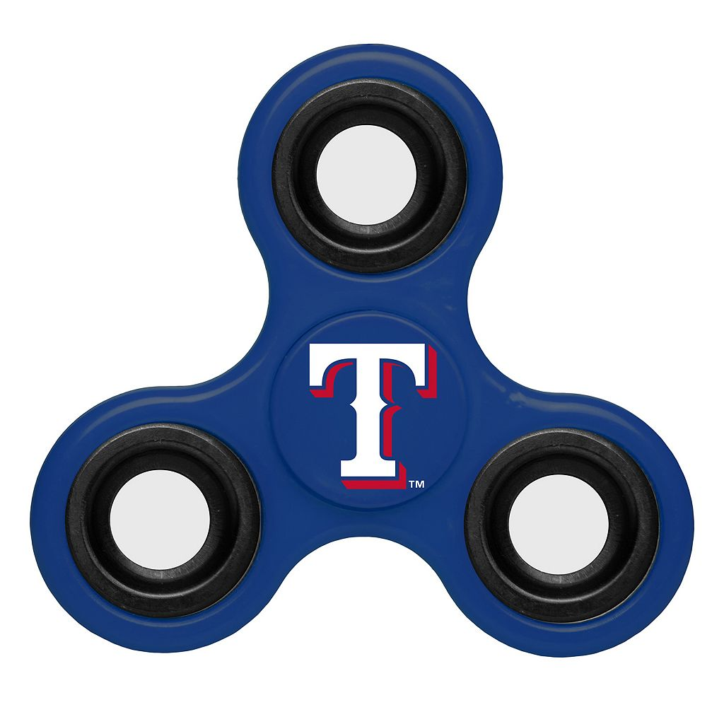 Texas Rangers Diztracto Three-Way Fidget Spinner Toy