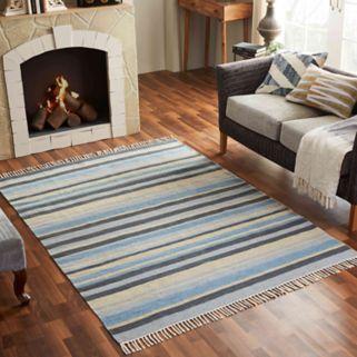 Chesapeake Lori Striped Wool Blend Rug - 5' x 7'
