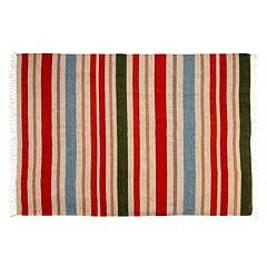 Chesapeake Lori Striped Wool Blend Rug - 5' x 7'