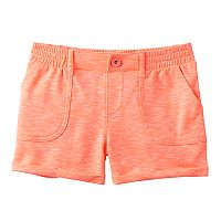 Girls Plus Size SO® French Terry Slubbed Soft Shorts