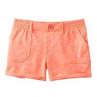 Girls Plus Size SO® French Terry Slubbed Soft Shorts