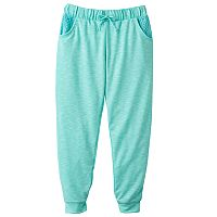 Girls 7-16 SO® Crochet Pocket Jogger Pants