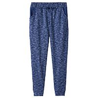 Girls Plus Size SO® Crochet Pocket Jogger Pants