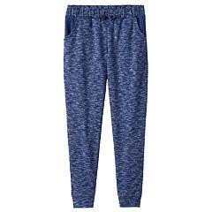 Girls Plus Size SO® Crochet Pocket Jogger Pants