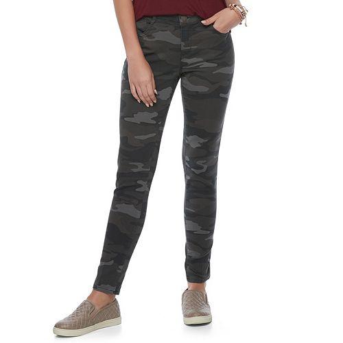 Juniors' Rewind 5-Pocket Skinny Pants