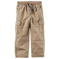 Baby Boy Carter's Cargo Canvas Pants
