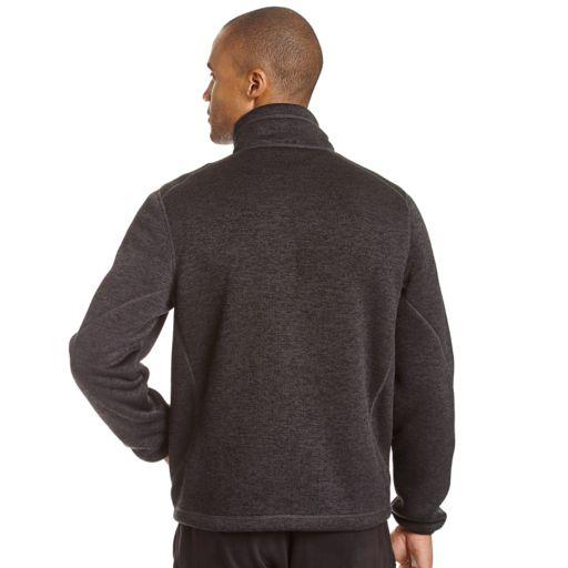 Big & Tall Champion Fleece Knit Jacket