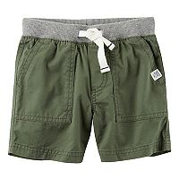 Baby Boy Carter's Pull-On Twill Shorts