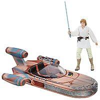 Star Wars The Black Series Star Wars: A New Hope Luke Skywalker Landerspeeder Vehicle by Hasbro
