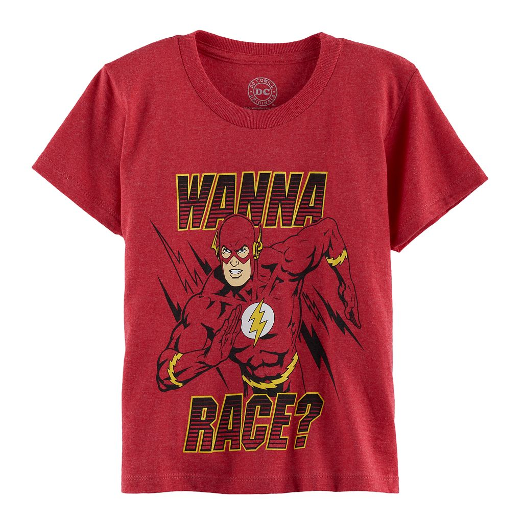 Boys 4-7 DC Comics The Flash