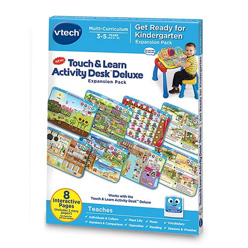 Touch & Learn Activity Desk™ Deluxe - Get Ready for Kindergarten Expansion Pack