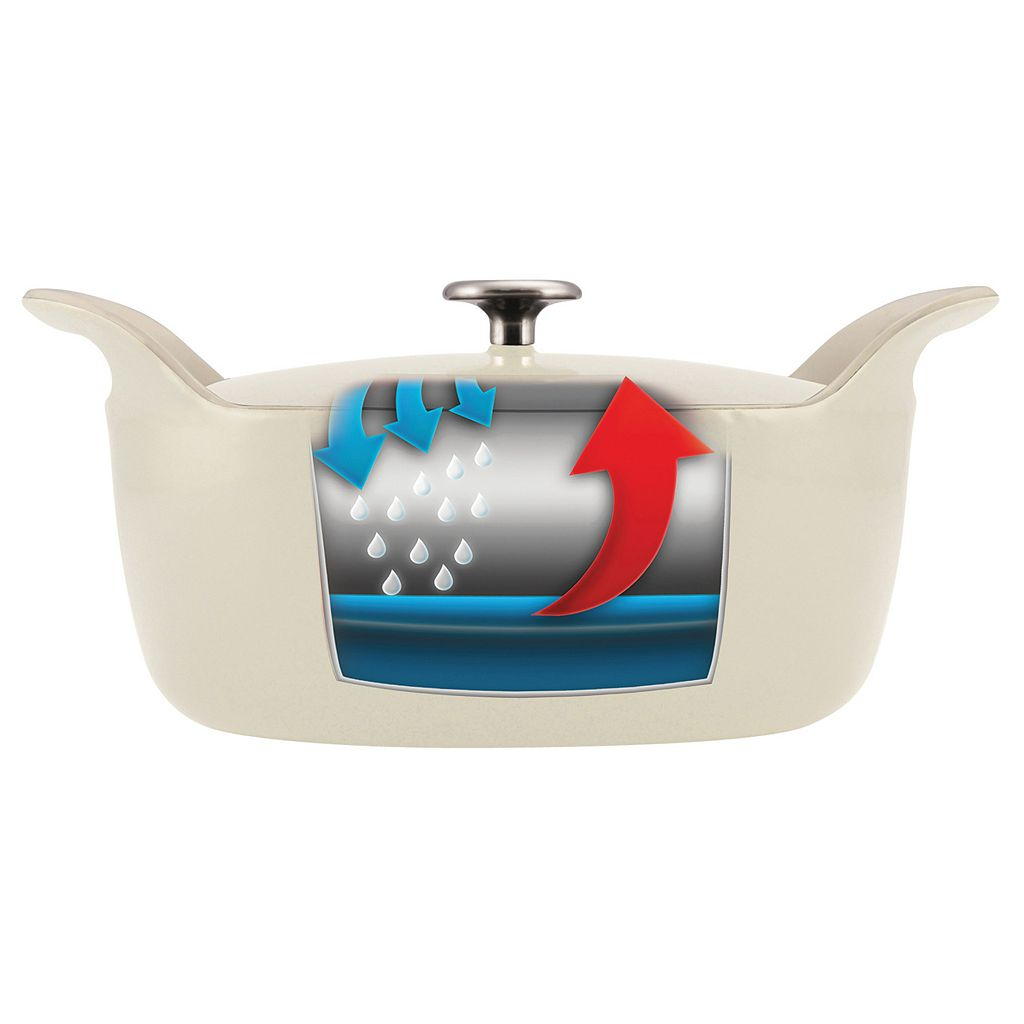Tramontina Limited Editions 5.5-qt. Enameled Cast-Iron Oval Dutch Oven