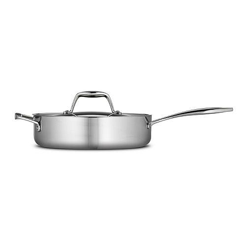 Tramontina  Gourmet 3-qt. Tri-Ply Clad Deep Saute Pan