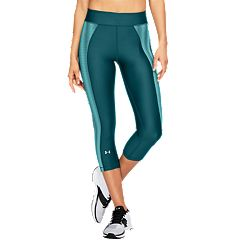 Women's Under Armour Heatgear Midrise Novelty Capri Leggings