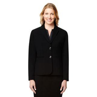 Women's Larry Levine Essential Solid Blazer