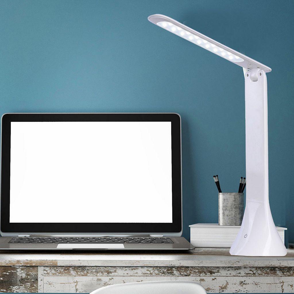 Catalina Lighting Tensor LED Dimmer Desk Lamp