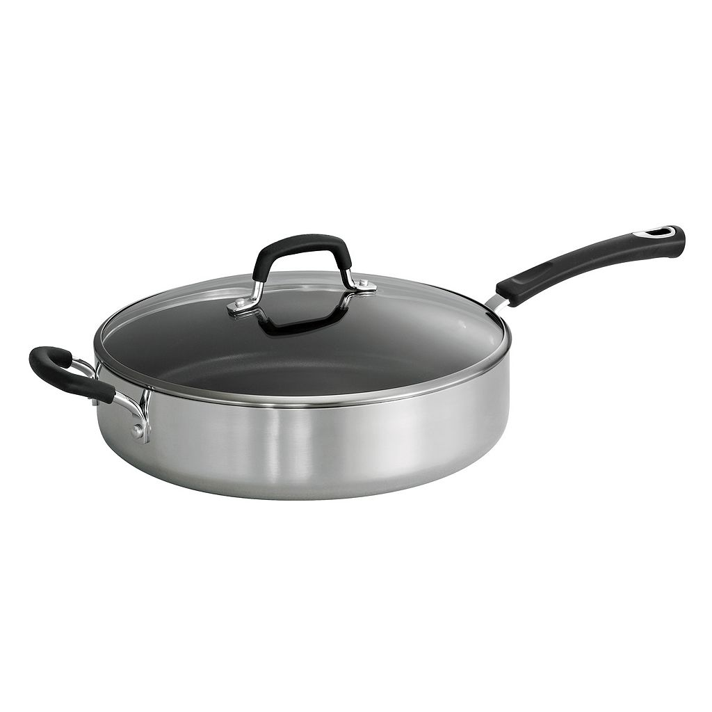 Tramontina Style 5.5-qt. Covered Saute Pan