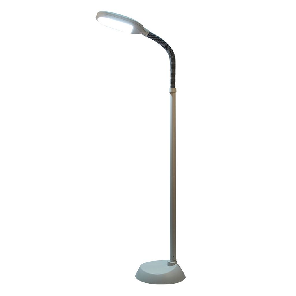 Catalina Lighting Tensor Runa LED Gooseneck Floor Lamp