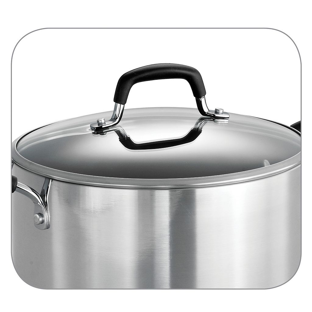 Tramontina Style 8-qt. Covered Stockpot