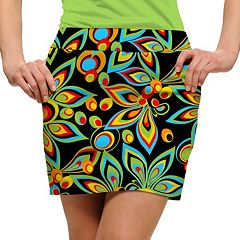 Women's Loudmouth Bright Print Golf Skort