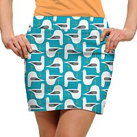 Women's Loudmouth Bird Print Golf Skort
