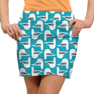Women's Loudmouth Bird Print Golf Skort