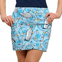 Women's Loudmouth Partini Print Golf Skort