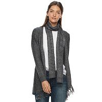 Women's SONOMA Goods for Life™ Scarf & Cardigan