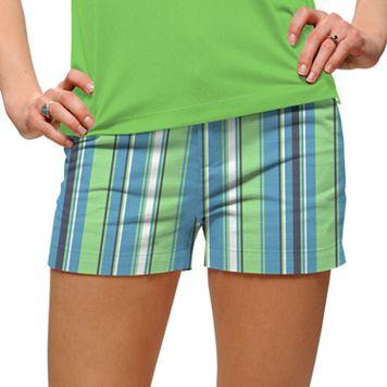 Women's Loudmouth Striped Mini Golf Shorts