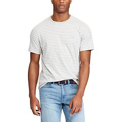 Men's Chaps Classic-Fit Striped Heathered Tee