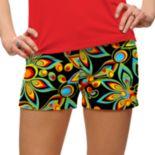 Women's Loudmouth Bright Print Mini Golf Shorts
