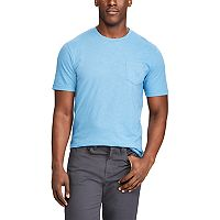 Men's Chaps Classic-Fit Striped Heathered Slubbed Tee