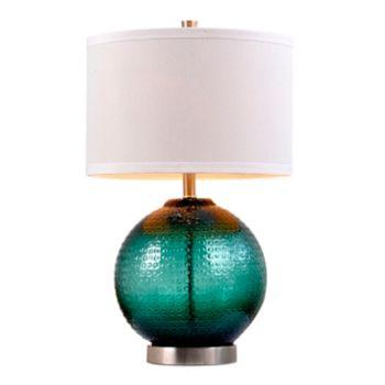 Catalina Lighting Jade Glass Orb Table Lamp