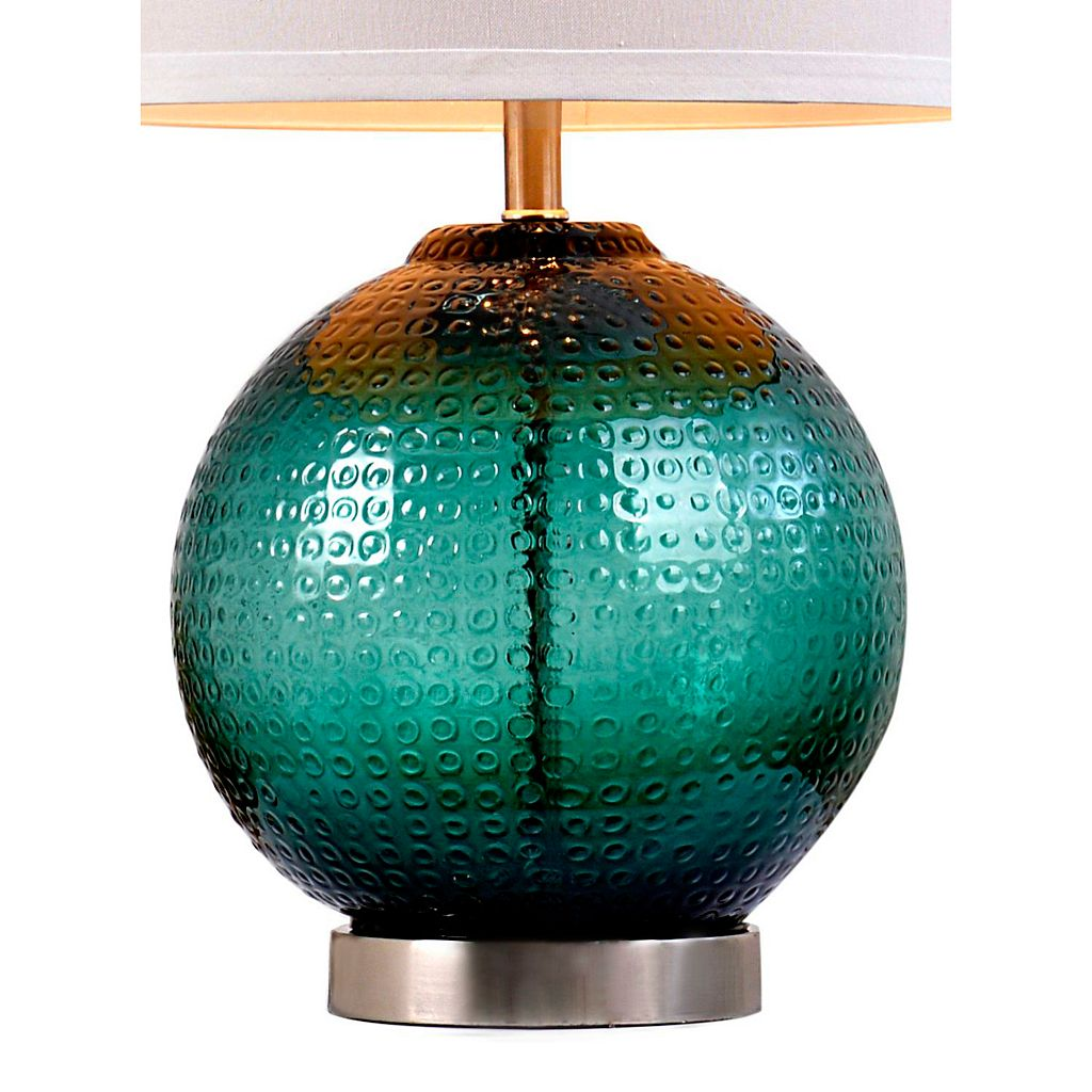 Catalina Lighting Jade Glass Orb Table Lamp