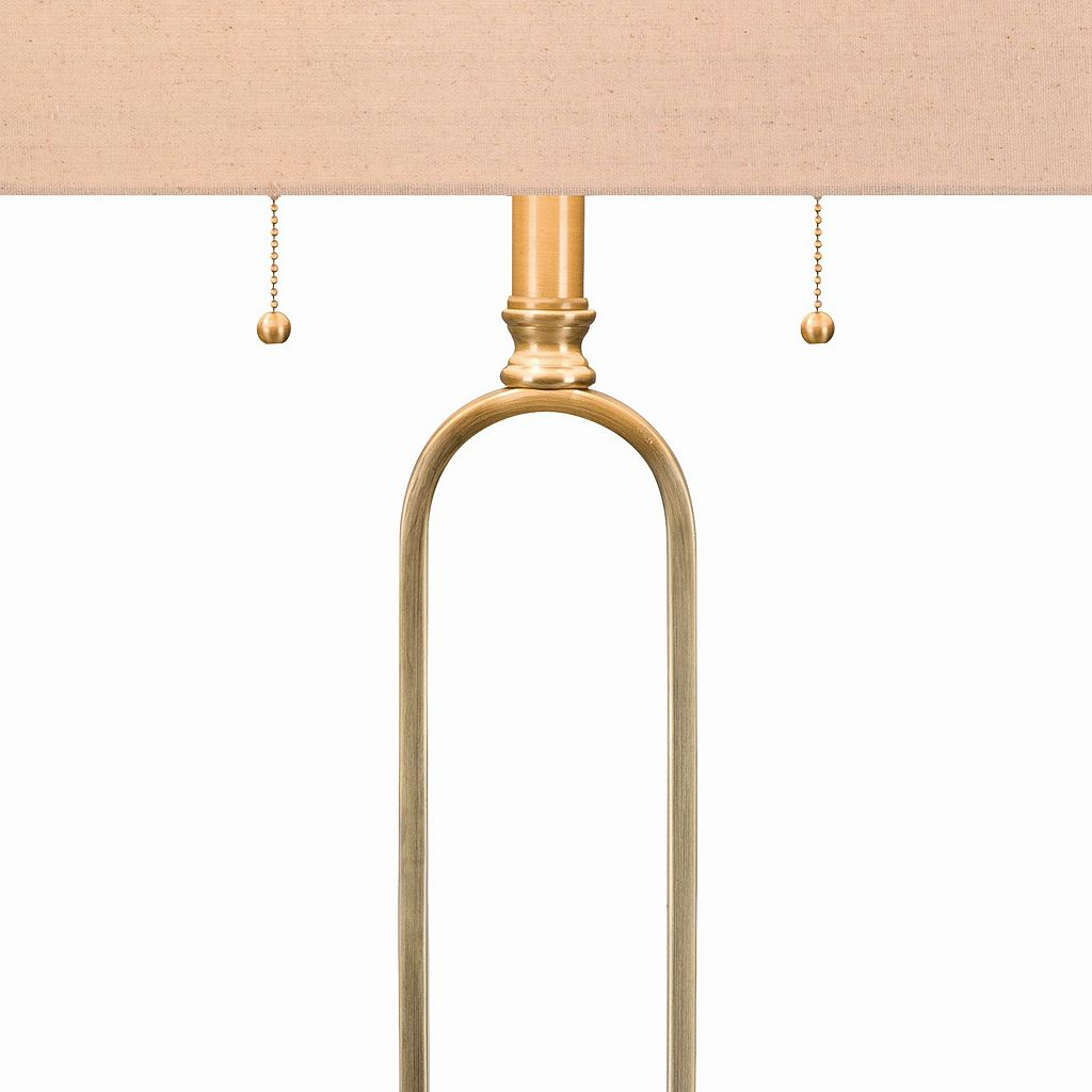 Catalina Lighting Geometric Table Lamp