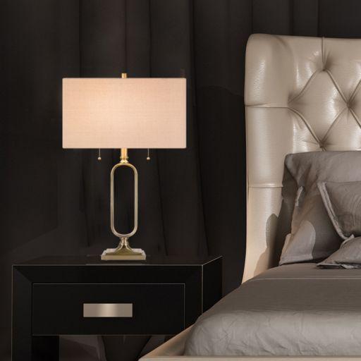 Catalina Lighting Geometric Table Lamp