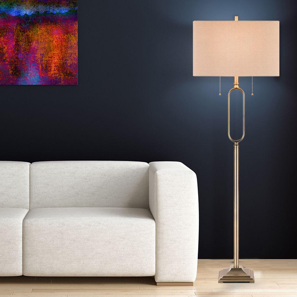 Catalina Lighting Geometric Floor Lamp