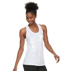 Women's Under Armour Tech Racerback Graphic Tank