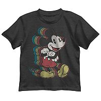 Disney's Mickey Mouse Boys 4-7 Rainbow Graphic Tee