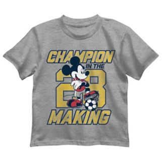 "Disney's Mickey Mouse Boys 4-7 ""Champion In The Making 28"" Graphic Tee"
