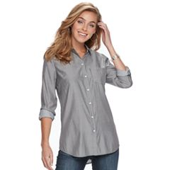 Women's Apt. 9® Poplin Shirt