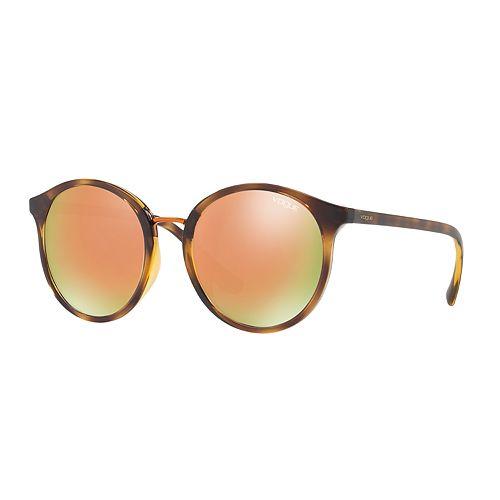 Gigi Hadid for Vogue VO5166S 51mm Round Mirrored Sunglasses