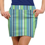 Women's Loudmouth Striped Golf Skort