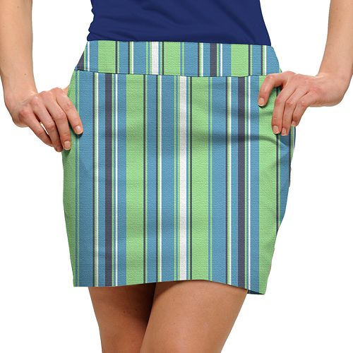 Women's Loudmouth Striped Golf Skort